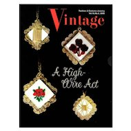 Vintage Fashion and Costume Jewelry Magazine Vol. 15 No 02 - 2009