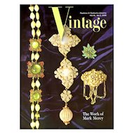 Vintage Fashion and Costume Jewelry Magazine Vol. 16 No 02  - 2006