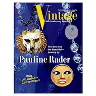 Vintage Fashion and Costume Jewelry Magazine Vol. 17 No 01  - 2007