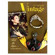 Vintage Fashion and Costume Jewelry Magazine Vol. 17 No 02  - 2007