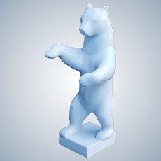 "Stunning 1900's KPM Konigliche Porzellan Manufaktur Berlin German 10"" Figurine Large White Polar Bear"