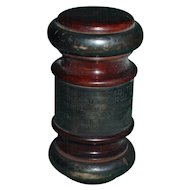 Antique World's Fair Master Presentation Gavel Chicago Columbian Exposition WM Mason's Mallet