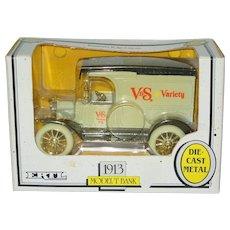 Ertl 1991 Advertising Bank 1913 Model T Truck V&S Variety Drug Store NIB