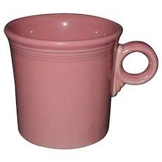 Vintage Fiesta Tom and Jerry Mug Rose Original Homer Laughlin Cup