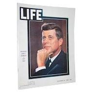 Life Magazine President John F Kennedy November 29, 1963