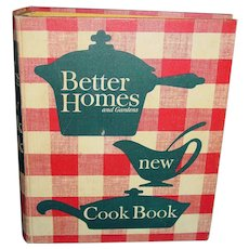 Vintage 1962 Cookbook Better Homes and Gardens New Cook Book 5 Ring Binder NICE