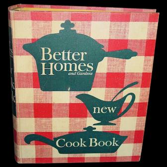 Vintage 1962 Cookbook Better Homes and Gardens New Cook Book 5 Ring Binder NICE