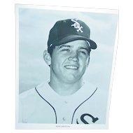 Vintage Chicago White Sox 1970 Press Photograph Bob Christian MLB 8X10 BW