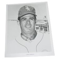 Chicago White Sox 1970 Louie Aparicio Original Press Photograph MLB 8 X 10 BW