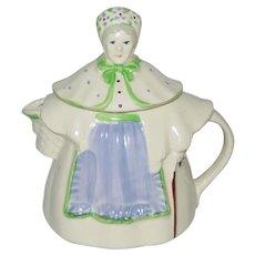 Vintage Shawnee Pottery Granny Ann Teapot