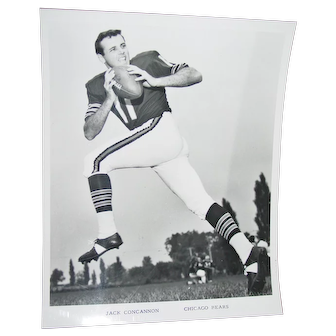 Chicago Bears Original Press Photo 1969 Jack Concannon NFL Football 8 X 10 BW