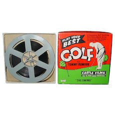 Vintage Castle Films Golf With Tommy Armour 1950's The Swing Lesson 8MM