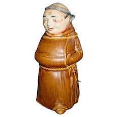 Vintage King Beer Stein Austria Friar Monk Character Stoneware