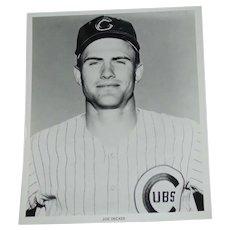 Chicago Cubs 1969 Joe Decker Original Press Photograph MLB Louis Okmin