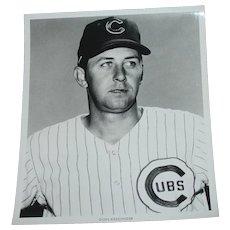 Chicago Cubs 1969 Don Kessinger Original Press Photograph MLB Louis Okmin