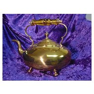 Vintage Large Brass Water Kettle...