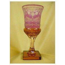 Fabulous Moser Goblet...