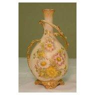 Lg. Royal Bonn Vase Painted w/ Flowers...