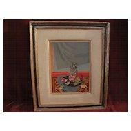 ROGER CHAPELAIN-MIDY (1904-1992) French twentieth century art Ecole de Paris signed limited edition lithograph still life print