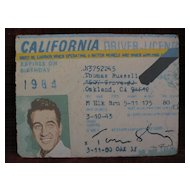 California pop art highly unusual painting by artist TOM SHULTZ