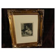 After PIERRE AUGUSTE RENOIR (1841-1919) original Heliogravure print