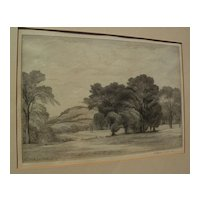 THOMAS NASON (1889-1971) original fine wood engraving pencil signed print dated 1937