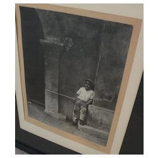 African-American photography circa 1920 signed by Los Angeles photographer Arthur S. Little