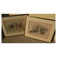 DAVID ROBERTS (1796-1864) **PAIR** of 19th century orientalist art subject matter prints