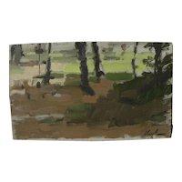 HAYWARD VEAL (1913-1968) Australian impressionist art landscape painting