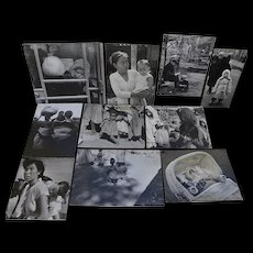 NORMAN COUSINS (1915-1990) collection of ten black and white photos by the noted American political journalist and author