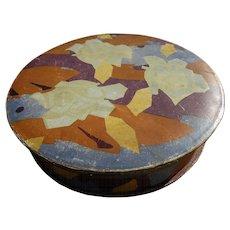 Original circa 1930's Art Deco pattern lithographed Chocolat Vinay chococate box