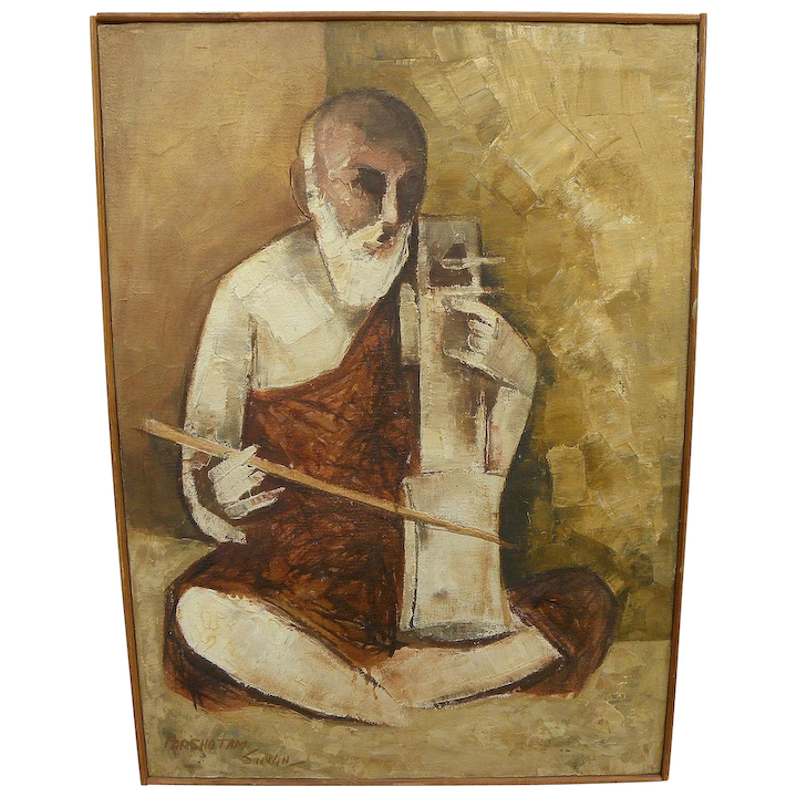 Canvas Indian Artist Painting