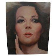 Actress Natalie Wood glamor portrait painting