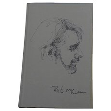 "Signed first edition book ""Beyond the Boardwalk"" by noted American poet and songwriter ROD McKUEN (1933-2015)"