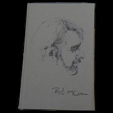 """Signed first edition book """"Beyond the Boardwalk"""" by noted American poet and songwriter ROD McKUEN (1933-2015)"""