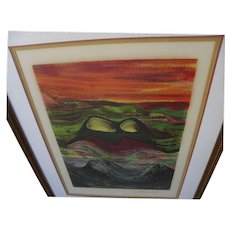 DAVID ALFARO SIQUEIROS (1896-1974) pencil signed limited edition print