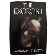 "William Peter Blatty SIGNED copy of 1971 book ""The Exorcist"""