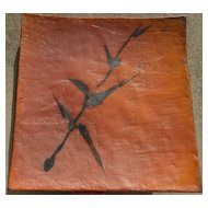 VIVIKA + OTTO HEINO  glazed ceramic plaque or platter by important ceramic artists