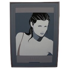 "After PATRICK NAGEL (1945-1984) large Mirage Editions screenprint poster ""Dakota"""