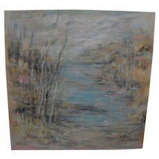Contemporary American impressionist landscape painting