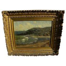 BRYANT CHAPIN (1859-1927) American art New England coastal landscape