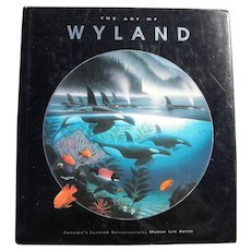 "ROBERT WYLAND (1956-) signed 1992 first edition book ""The Art of Wyland"""