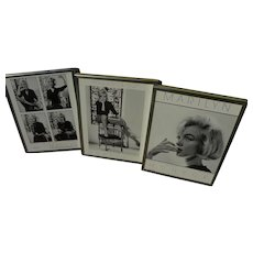 Marilyn Monroe set of photos hand signed by photographer ALLAN GRANT (1919-2008)