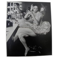 ALFRED EISENSTAEDT  (1898-1995) vintage photo of ballerinas in New York 1937