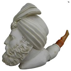 Meerschaum vintage smoking pipe Tobacciana