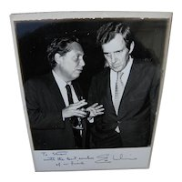 Edmund Muskie (1914-1996) inscribed signed photo of noted American political figure