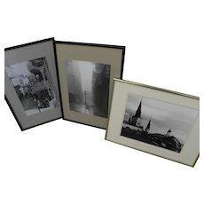 JOHNNY DONNELS (1924-2009) three photographs by the noted New Orleans photographer and artist