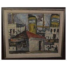 MARIO LORIETO (1919-) important Uruguay art follower of Constructivism