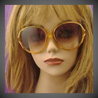 1980's Christian DIOR Lunettes Sunglasses