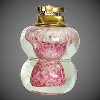 Murano Art Glass Table Lighter ~ Hollywood Regency Era